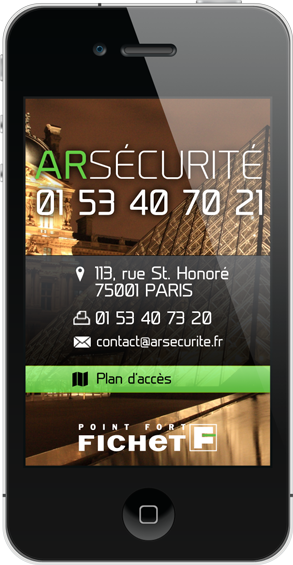 AR S�curit� - 113 rue St Honor� � Paris 1